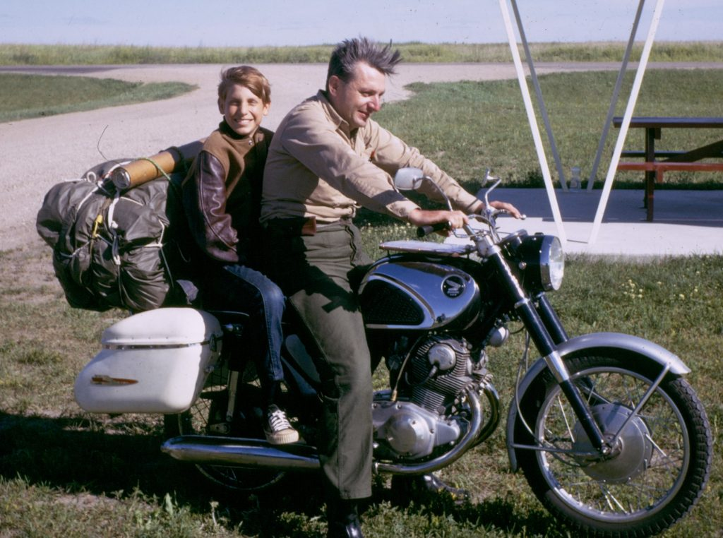 """A motorcycle trip that Robert Pirsig and his 11-year-old son, Chris, made through the Northwest in 1968 is the basis for """"Zen and the Art of Motorcycle Maintenance."""" Pirsig, 88, dies in April at his South Berwick home."""