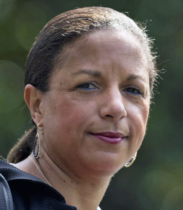 Susan Rice has firmly denied unmasking Trump associates for political reasons.