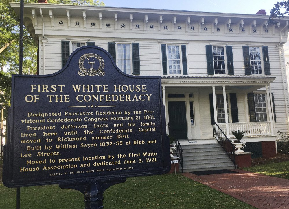 The First White House of the Confederacy in Montgomery, Ala., where Confederate President Jefferson Davis lived in 1861. Thousands of children visit the site each year.
