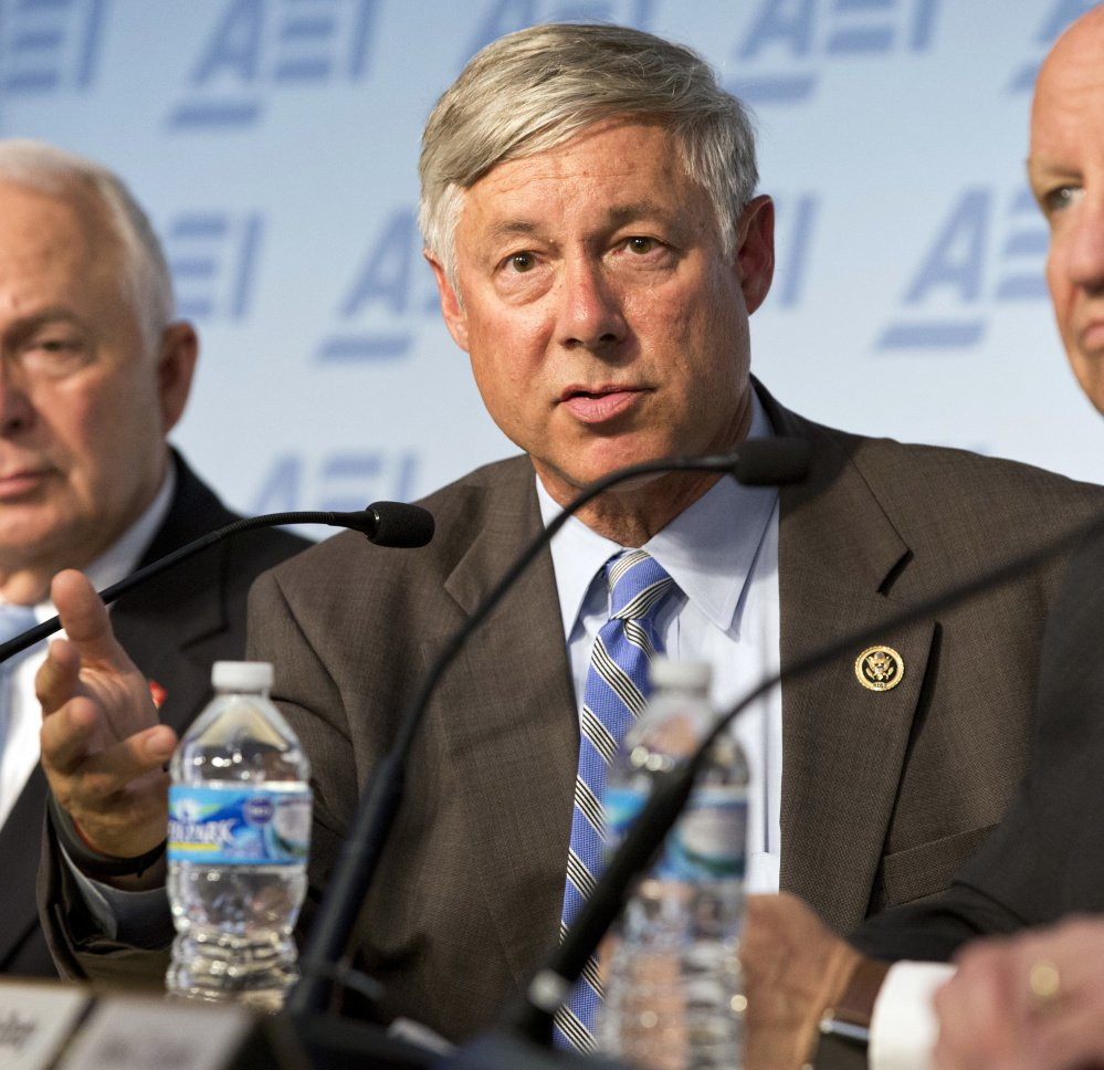"Associated Press/Alex Brandon Rep. Fred Upton, R-Mich., who came out against his colleagues' plan to replace the Affordable Care Act, said it ""torpedoes"" safeguards for people with pre-existing conditions."