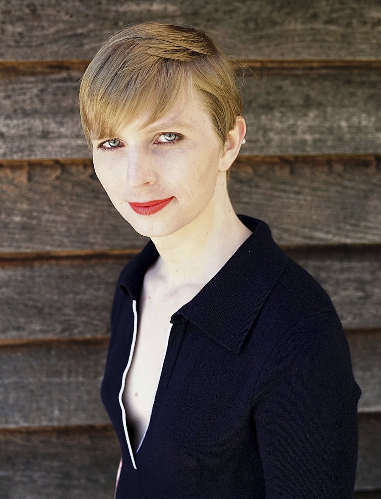 Army Pvt. Chelsea Manning posted this picture to her Instagram account.