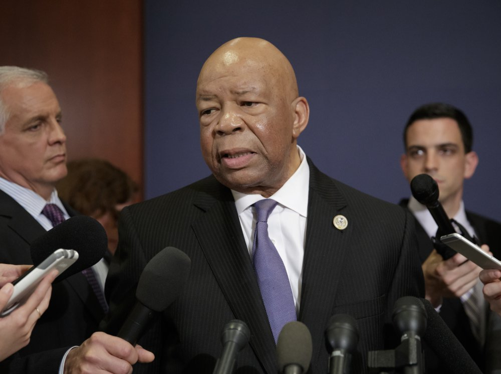 "Rep. Elijah Cummings, D-Md., , called President Trump's reported statements to Russian envoys ""extremely troubling."""