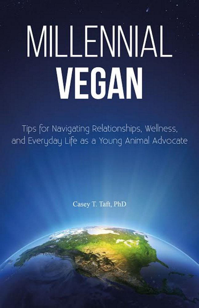 "Casey Taft, author of ""Millennial Vegan,"" will speak at the festival about challenges for young vegans."