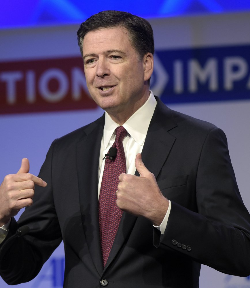 Former FBI Director James Comey might have been fooled into speaking about Hillary Clinton's emails by Russian propaganda.