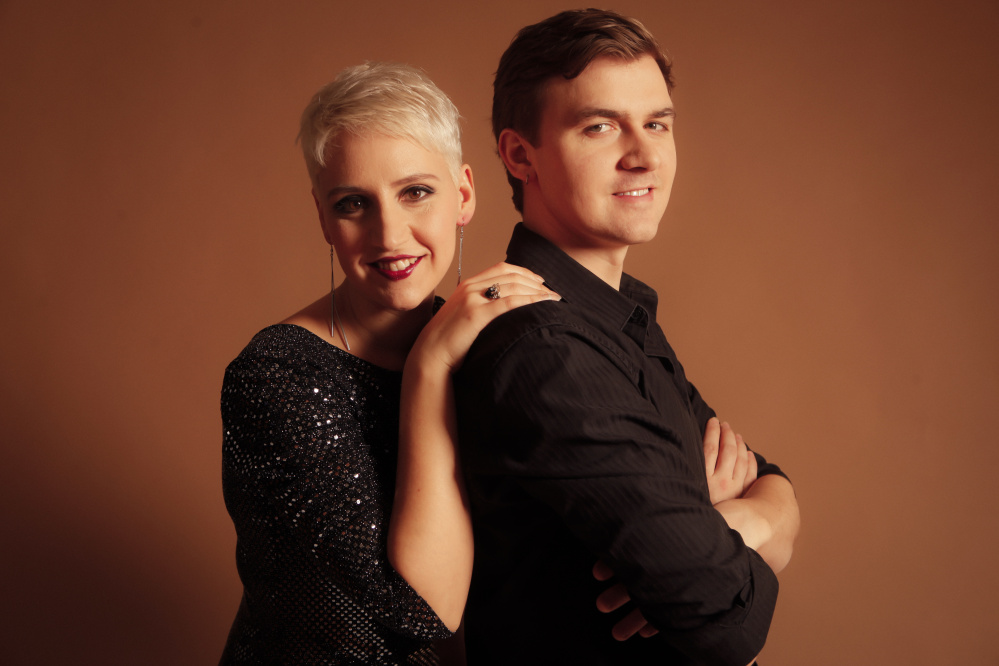 Sara d'Ippolito and Kenny Reichert will perform May 12 at Unity College Center for the Performing Arts.