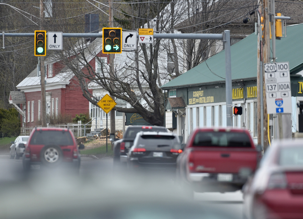 The Maine Department of Transportation will be changing the lights at Bay and Halifax streets, by J&S Oil, to improve traffic flow in Winslow and will connect all traffic lights in the town to a fiber optic network.