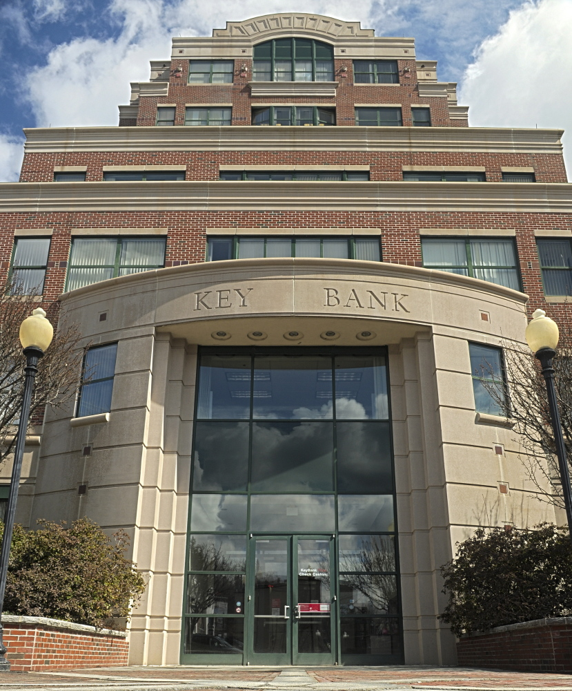 The Key Bank building in downtown Augusta, shown in this 2015 file photo, provides office space to many state workers, and a deal reached earlier this week means the property will stay in the current owners' hands.