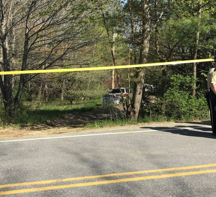Police are investigating a report of a shooting on Sturtevant Hill Road in Readfield, where Sheriff Ken Mason says a wife shot her husband.