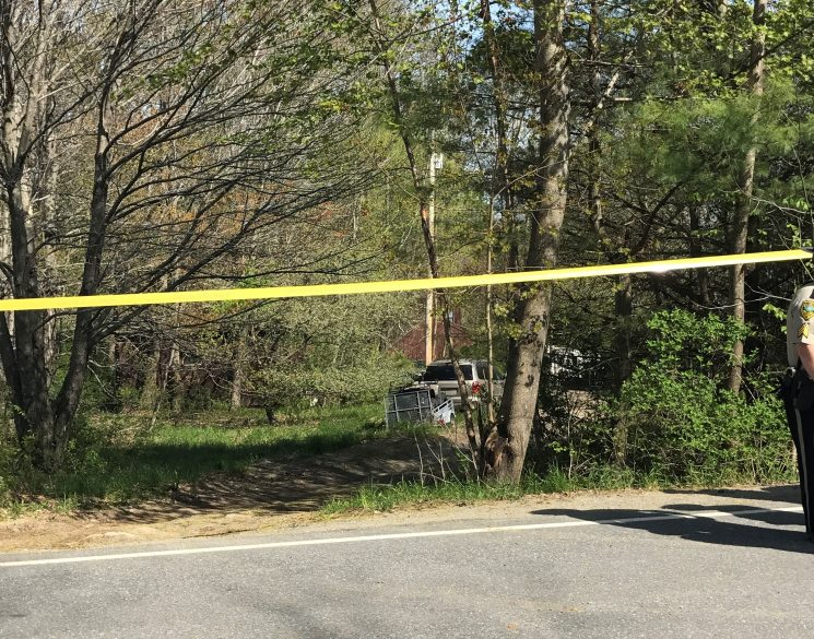 Police responded to Sturtevant Hill Road in Readfield Wednesday for a report that a woman shot her husband.