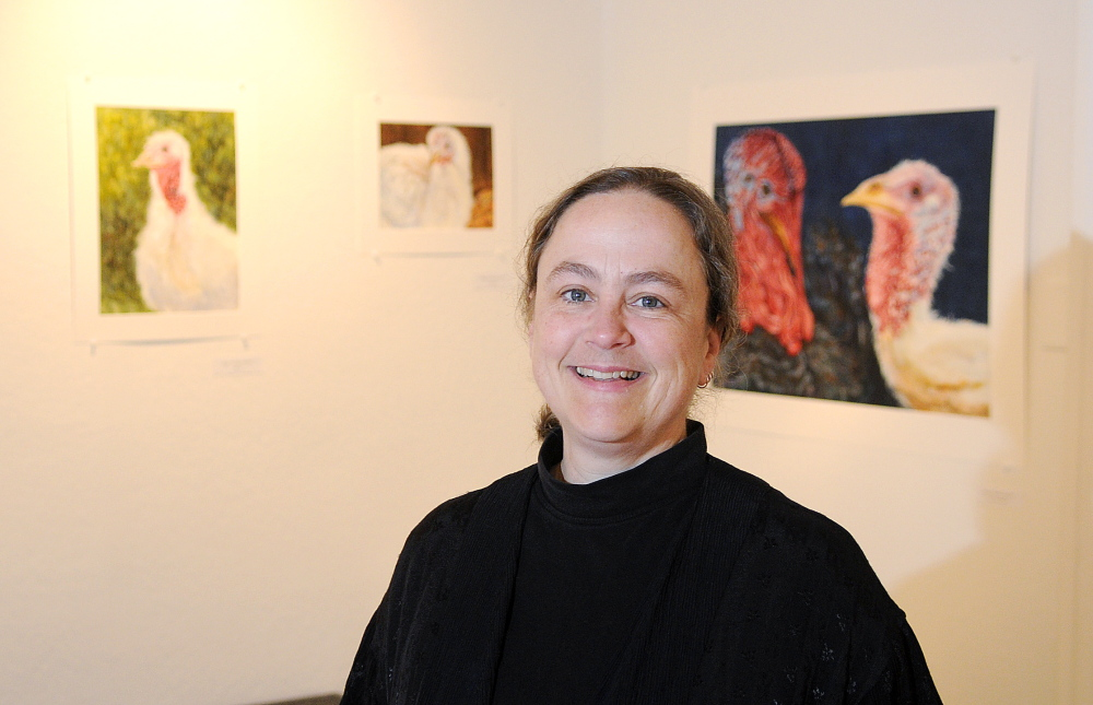 Deb Fahy of the Harlow Gallery in Hallowell is heading up an effort to find creative ways for the city to deal with the major road reconstruction in 2018.