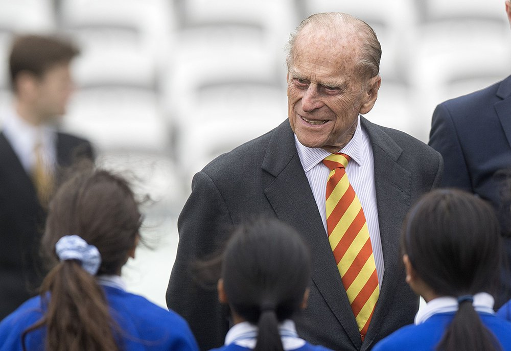 Britain's Prince Philip, the Duke of Edinburgh, visits  Lord's Cricket Ground in London on Wednesday. Buckingham Palace said Philip will continue heading numerous charitable organizations but, beginning in the fall, will not play an active role attending engagements.