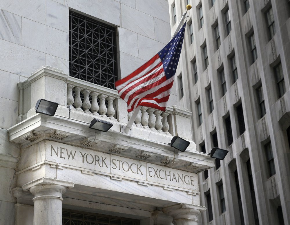 Stock indexes added to record highs on Friday in trading on the New York Stock Exchange.
