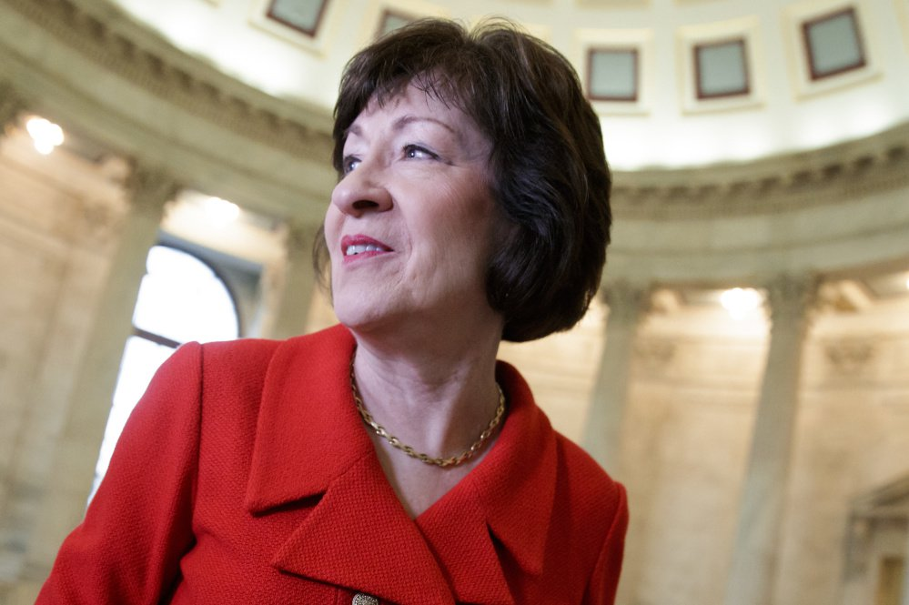 "Sen. Susan Collins says ""Maine is a rural state that has a large low-income population ... that could benefit from Medicaid expansion."""