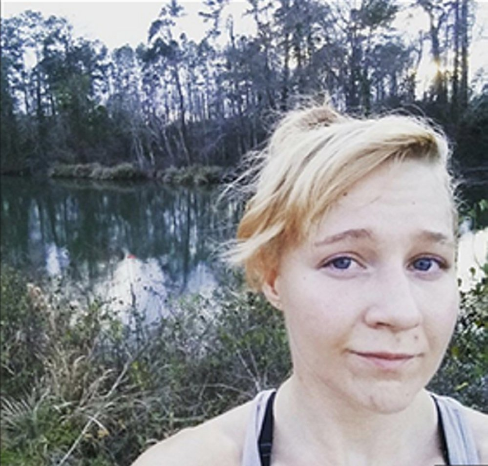 Reality Leigh Winner, seen in a photo on her Instagram account, is charged with copying classified documents and mailing them to an online news outlet. She served six years in the Air Force before becoming a federal contractor.