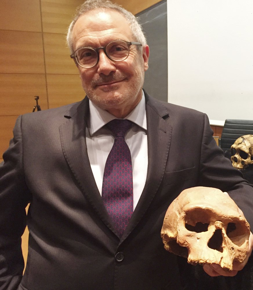 "Jean-Jacques Hublin said people from early stage of human evolution ""are not just like us."""
