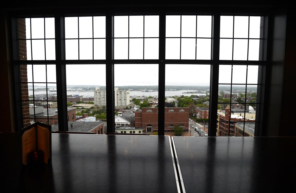 The view from the Top of the East is among the best in Portland.