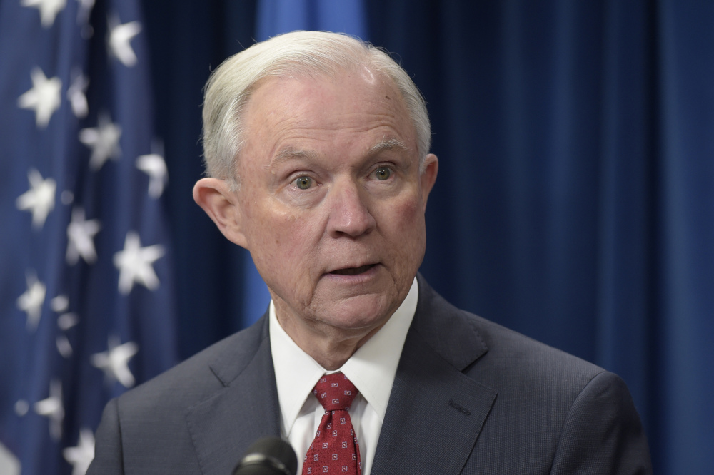 """Regarding the Russia probe, President Trump told The New York Times that Attorney General Jeff Sessions """"should have never recused himself, and if he was going to recuse himself, he should have told me before he took the job and I would have picked somebody else."""""""
