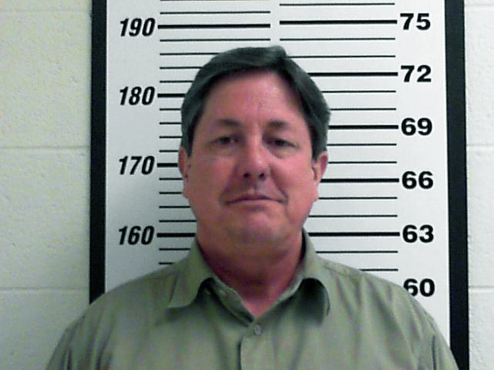 Lyle Jeffs is shown in a February 2016, booking photo.