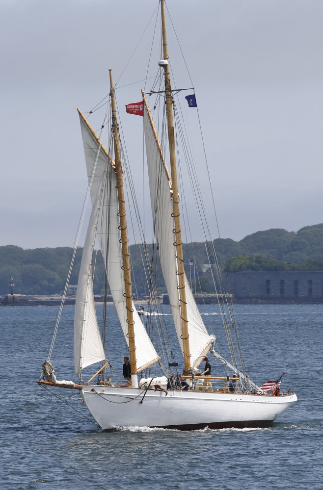 The Wendameen will participate in Portland SchoonerFest and Regatta to be held June 24-26.