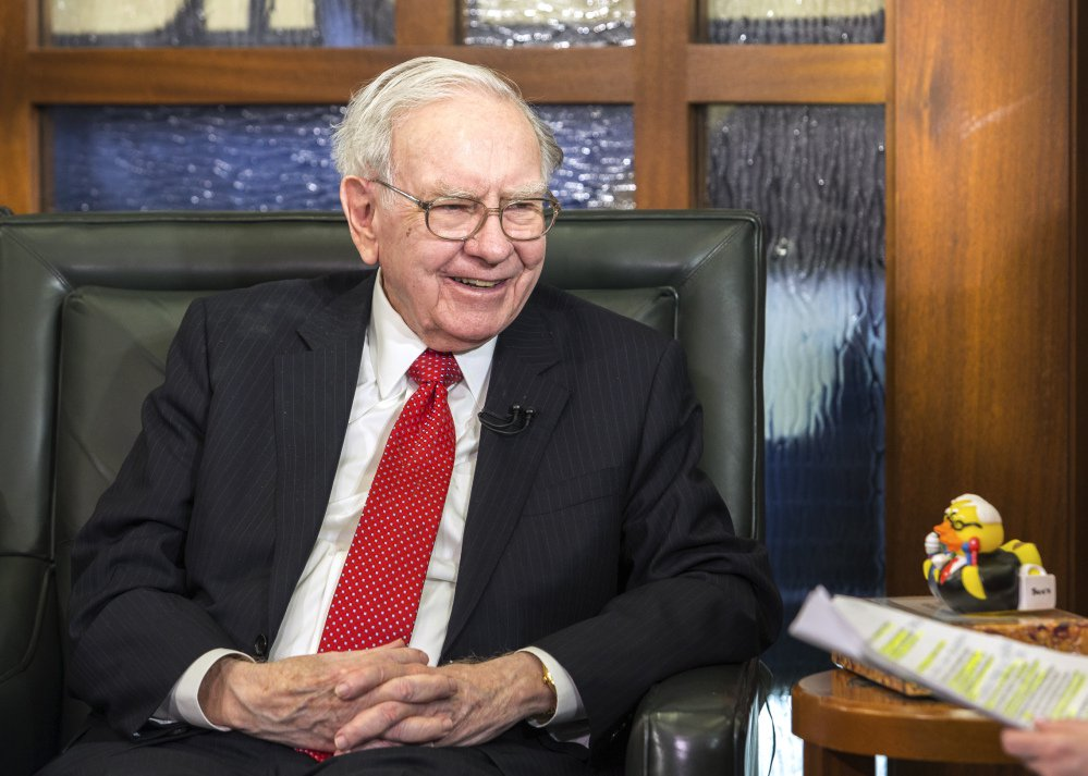 Berkshire Hathaway Chairman and CEO Warren Buffett in 2016.