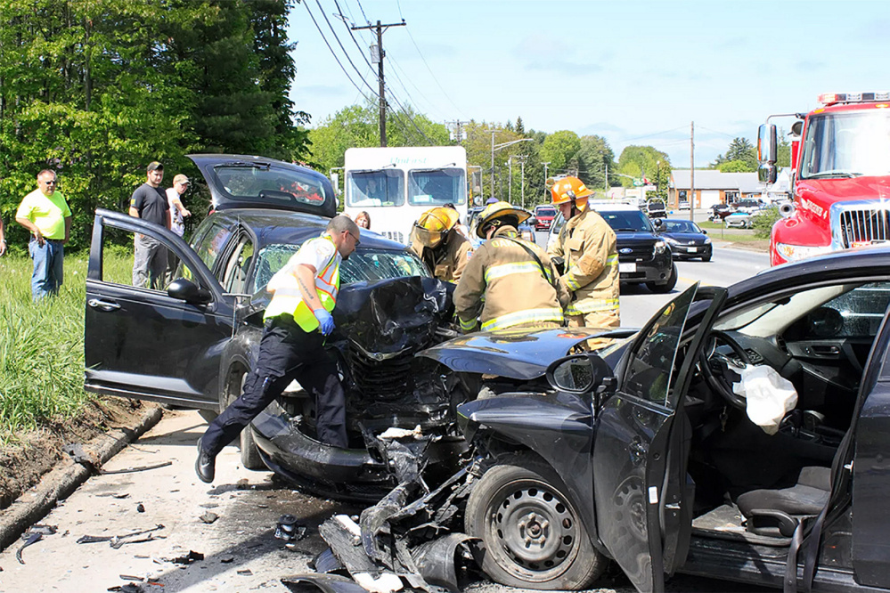 The driver of a Mazda3 apparently fell asleep at the wheel Thursday morning and drifted into an oncoming lane on Kennedy Memorial Drive in Oakland, crashing into a Chrysler PT Cruiser. One person died as a result of the accident.