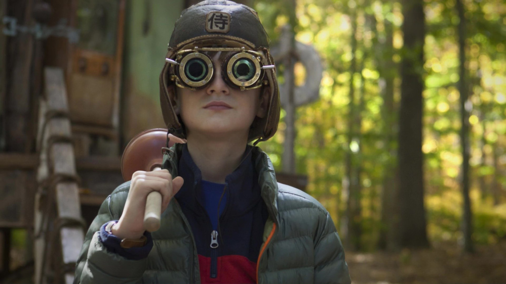 "Jaeden Lieberher is Henry Carpenter in ""The Book of Henry."""