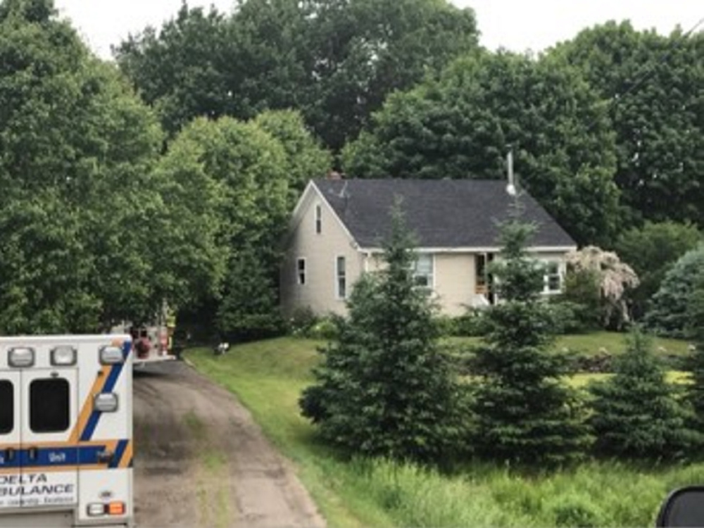 China fire crews responded quickly to a report of a fire in the bathroom at this home at 239 Lakeview Drive.