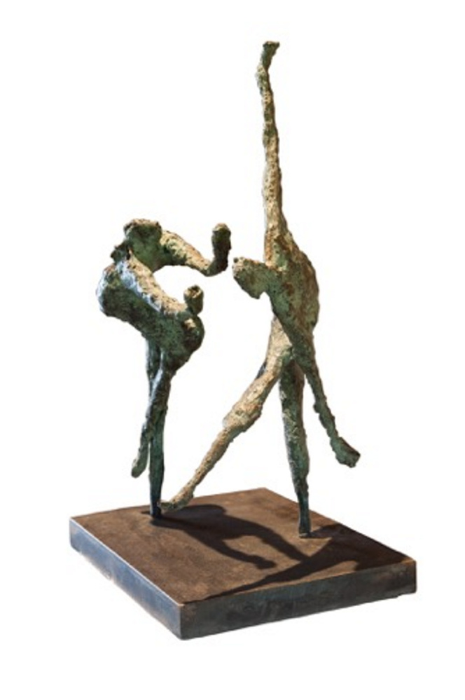 """Contemporary Dance,"" a bronze sculpture by Virginia S. Brun will be included in the Maine Art Gallery's exhibit, an opening reception is scheduled for 5-8 p.m. Friday, June 23."