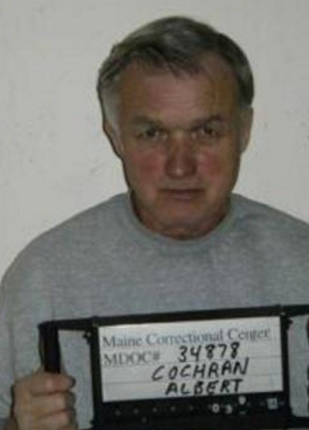 Albert P. Cochran is seen in a photo from the Maine Department of Corrections website.