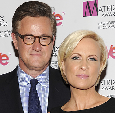 "MSNBC's ""Morning Joe"" co-hosts Joe Scarborough and Mika Brzezinski attend the 2013 Matrix New York Women in Communications Awards  in New York."