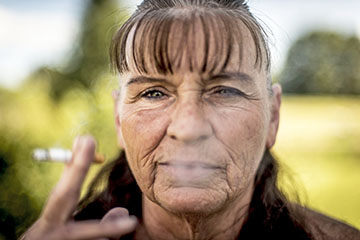 Victoria Cassell, 57, has attended a seven-week program to try to stop smoking every year for four years.