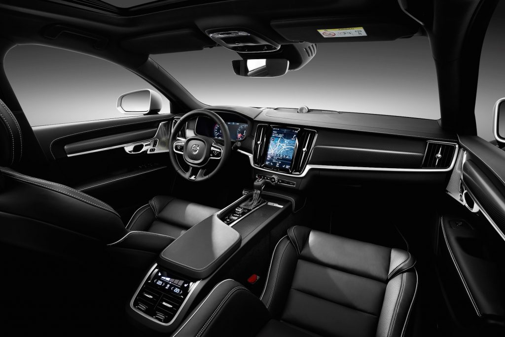 The 2017 Volvo V90 Cross Country's interior is eloquent and elegant.