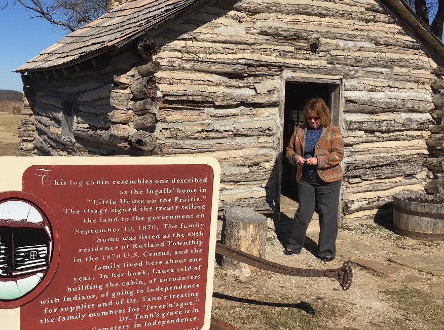 "The cabin at the ""Little House on the Prairie"" site is a re-creation built in 1977 during the peak popularity of the TV show based on the books by Laura Ingalls Wilder."