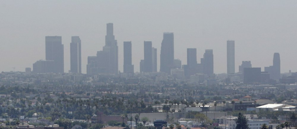 The House passed a Republican-backed bill Tuesday to delay by eight years implementation of Obama-era cuts in smog-causing pollutants such as those blanketing Los Angeles in 2006. Ground-level ozone causes thousands of deaths a year.