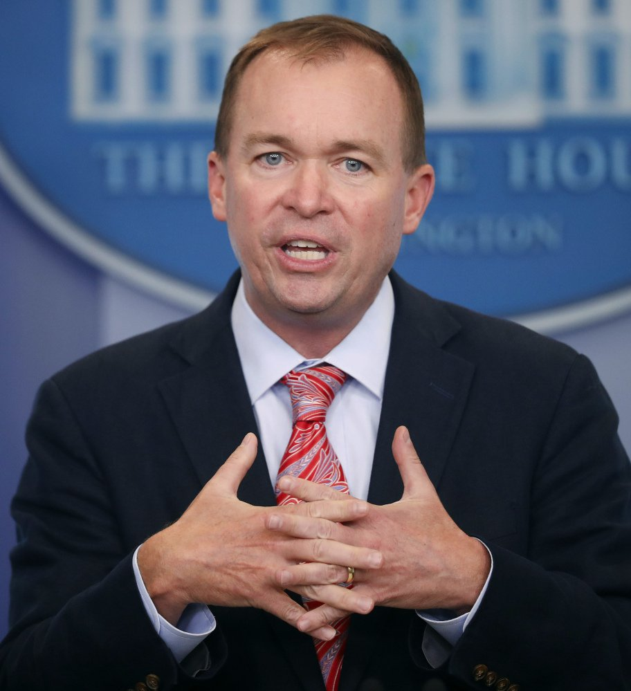 Lawmakers complained to Budget Director Mick Mulvaney about some of President Trump's cutbacks.