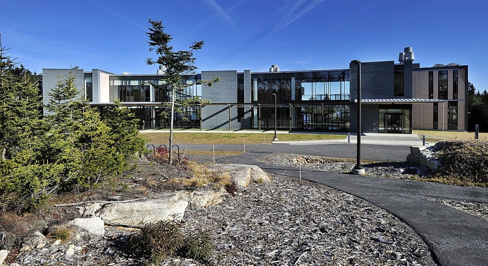 "Four colleges in New England are cooperating to train students to design ""green"" buildings, like the Bigelow Laboratory of Ocean Sciences in East Boothbay."