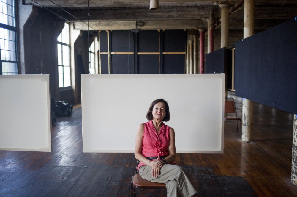 """""""The life of a dancer is a tough life, and what we offer is support and a safe space ... We support artists through the arc of their career, and I am so proud of that,"""" says Laura Faure, director of the Bates Dance Festival for 30 of its 35 years."""