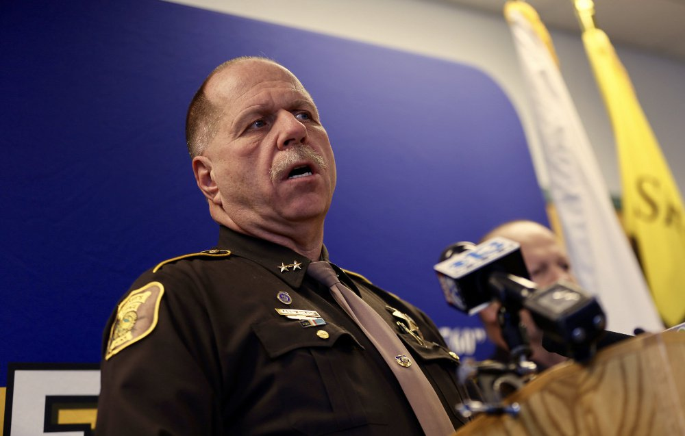 "Cumberland County Sheriff Kevin Joyce: ""It's not our job to be the judge, jury and executioner."""
