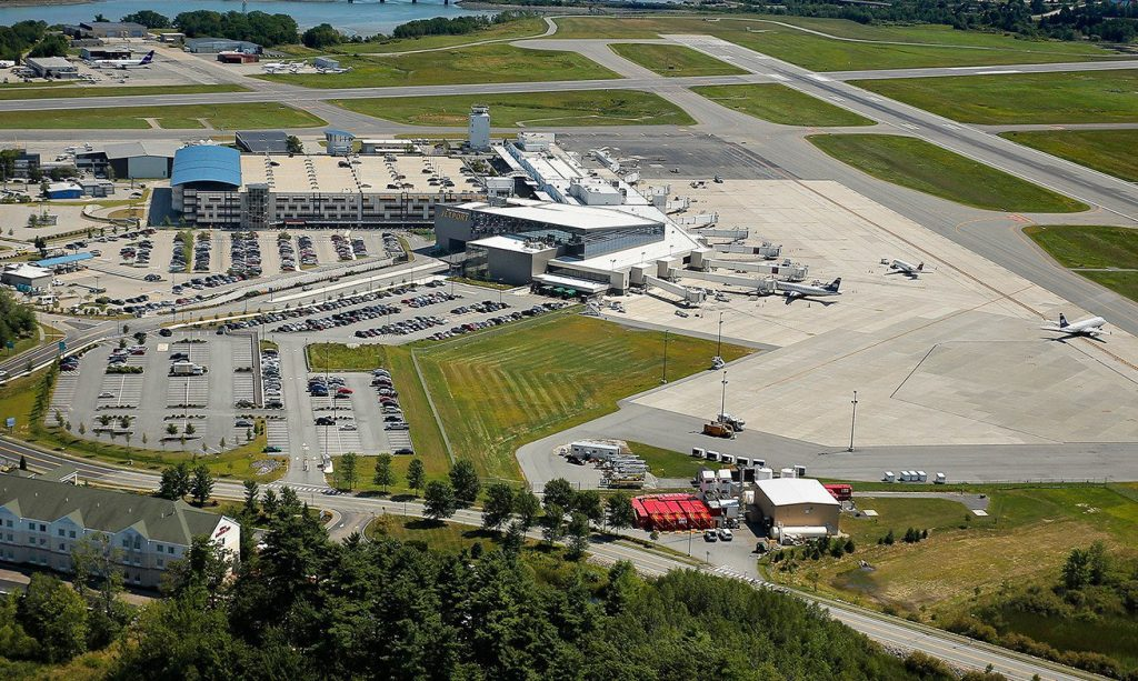 The Portland Jetport in a 2013 photo.