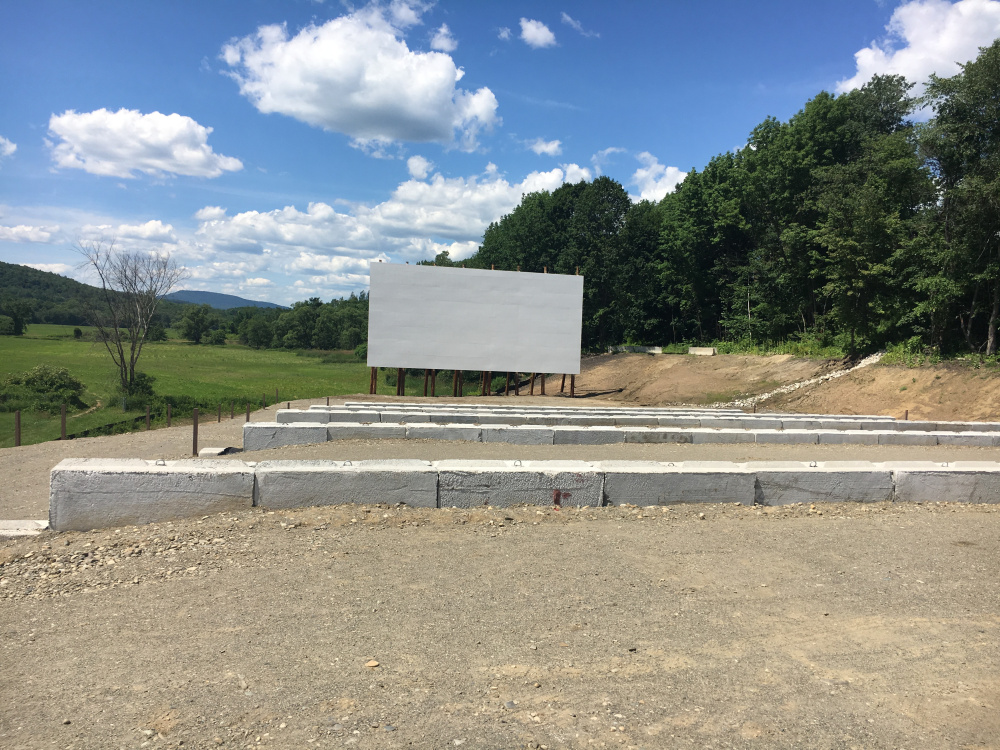 The new Narrow Gauge Cinema drive-in will offer stadium-style parking for up to 60 cars.