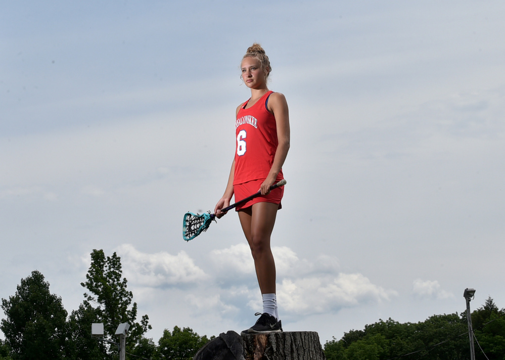 Messalonskee's Ally Turner is the Morning Sentinel and Kennebec Journal Girls Lacrosse Player of the Year.