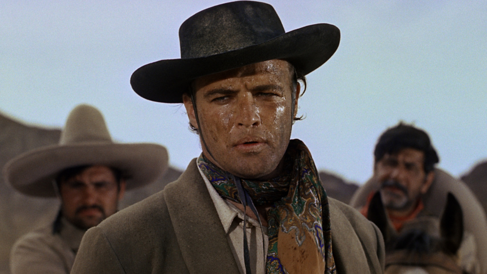 "Marlon Brando in ""One Eyed Jacks."" It was slated to be directed by Stanley Kubrick, who had no patience with the screenplay and left to direct ""Spartacus,"" leaving star Marlon Brando adrift. No one seemed to want to touch it, so Brando did it."