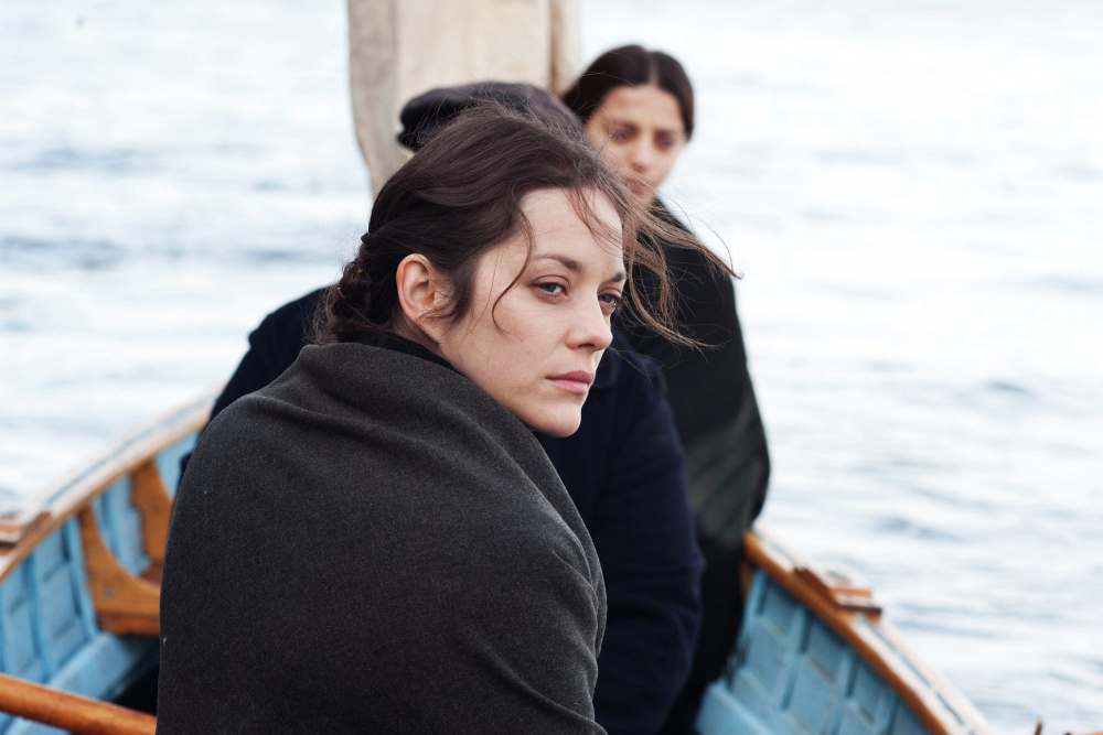 "Marion Cotillard in ""The immigrant."" James Gray's film is beautiful to see. The sets, costumes and lighting are incredible."