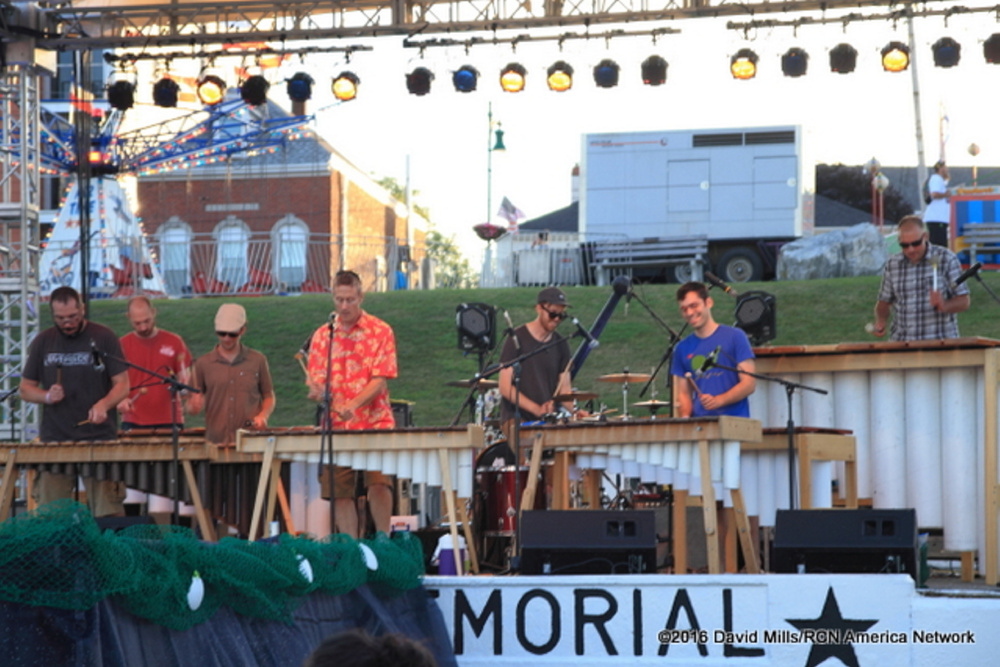 The Maine Marimba Ensemble will perform on Middle Street during the Wiscasset Art Walk scheduled for 5-8 p.m. Thursday, July 27. The band plays Zimbabwean-inspired music on hand-made marimbas.