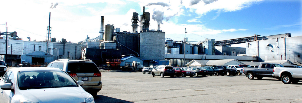 Verso Paper's Androscoggin Mill in Jay, seen Nov. 1, 2016, plans to shut down a key papermaking machine permanently, resulting in the loss of 120 jobs there.