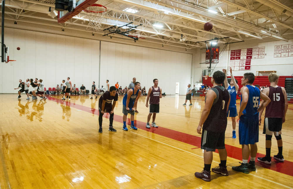 Three games take place during the Cony summer league Wednesday at Cony High School in Augusta.
