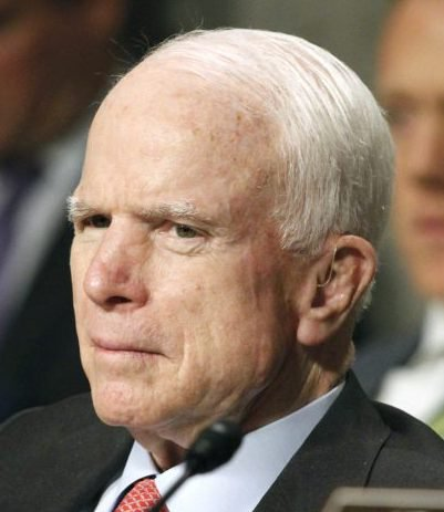 Sen. John McCain, R-Ariz., has been diagnosed with a brain tumor.