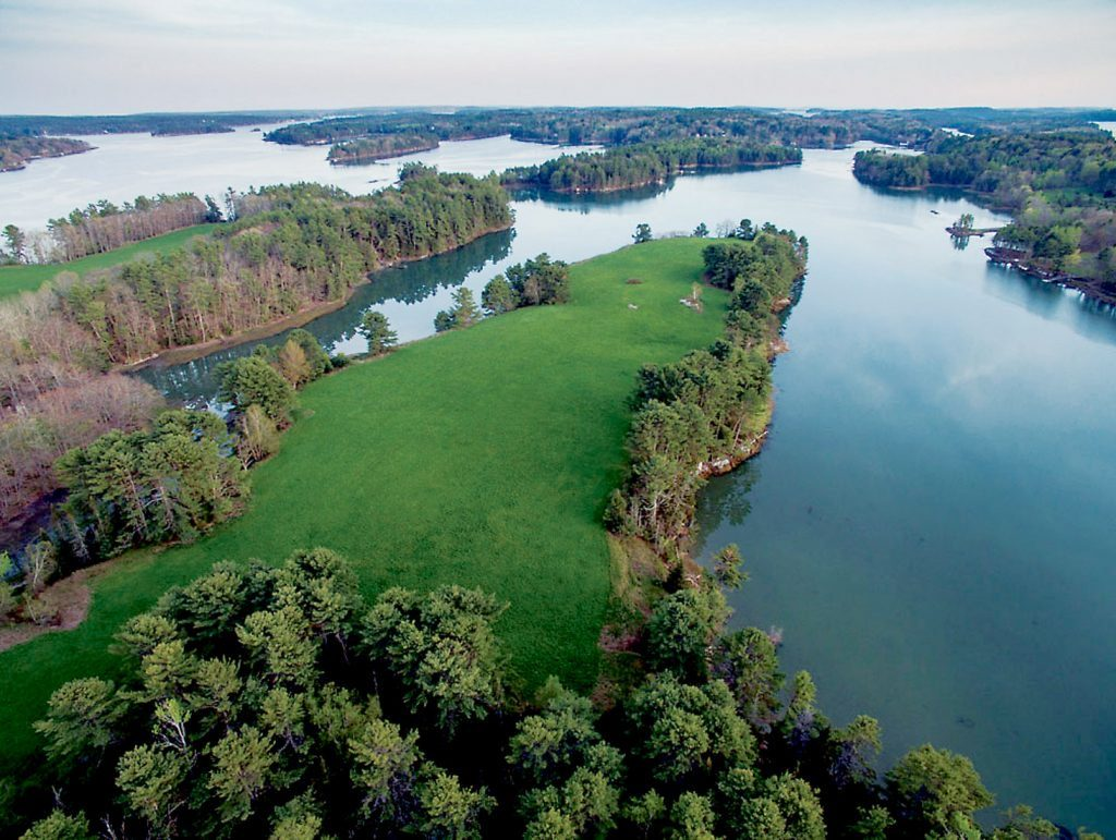Maine Coast Heritage Trust and Brunswick-Topsham Land Trust are working together to preserve 80-plus acres of waterfront property.