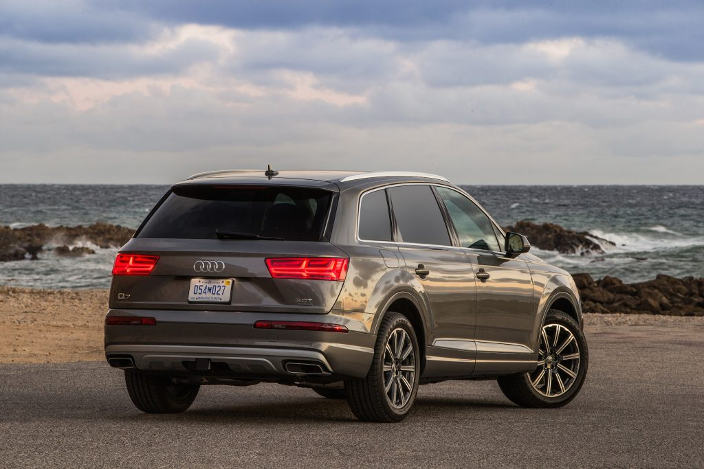 The Q7 may be a three-row crossover, but it's blessed with incredible genetics.