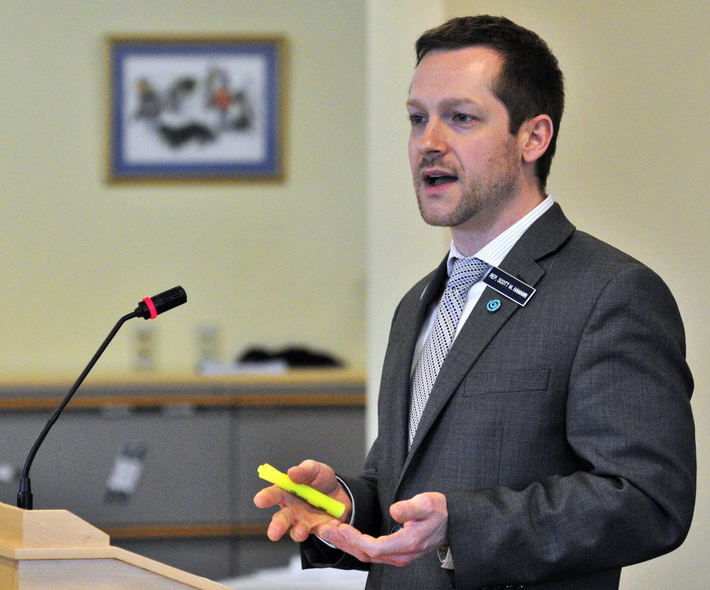 If inflammatory statements were enough to justify the expulsion of Scott Hamann from the Legislature, then a lot of other lawmakers would have to abandon the State House.